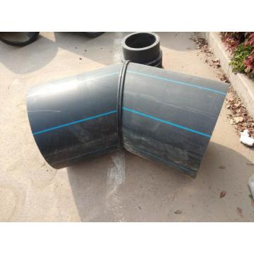 HDPE 45 degree fabricated elbow