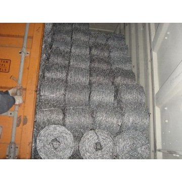 Factory Hot dipped galvanized barbed wire