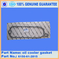 excavator spare parts PC400-6 oil cooler gasket 6450-61-2815