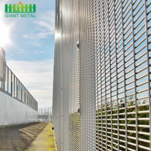 High quality powder coated 358 anti-climbing fence