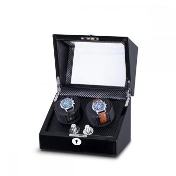 Ebony Double Rotors Watch Winder