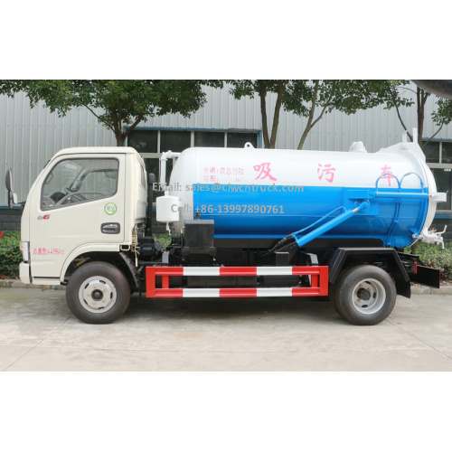 Brand New Dongfeng D6 2m³ Waste Water Truck