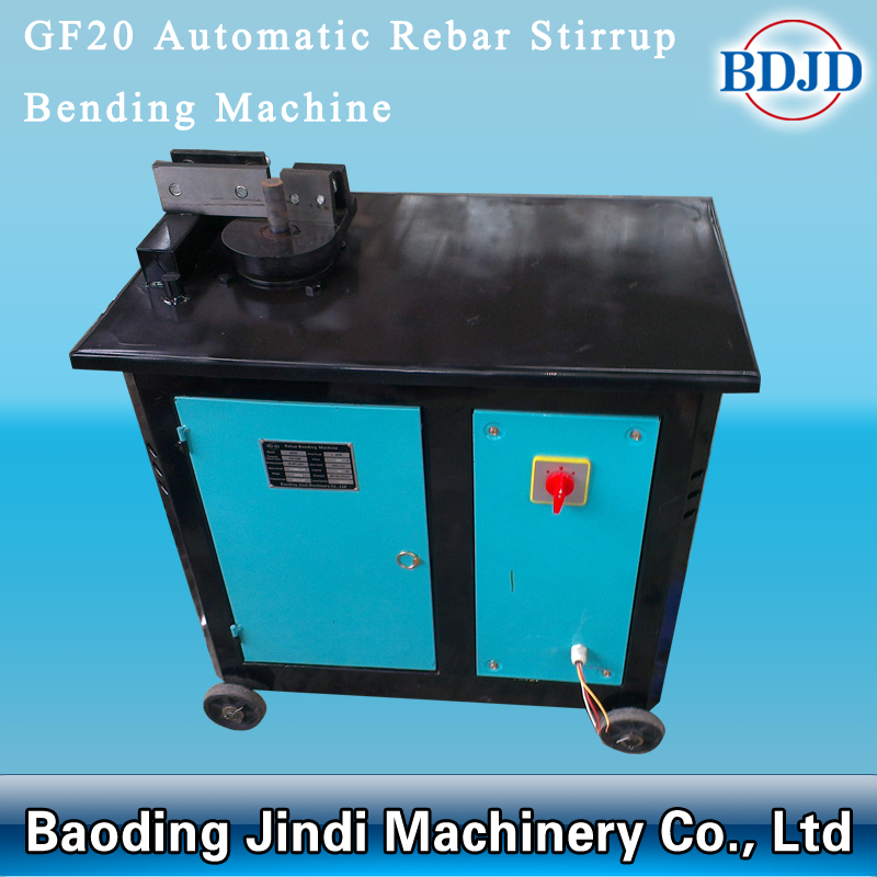 Automatic Rebar Stirrup Bending Machine002