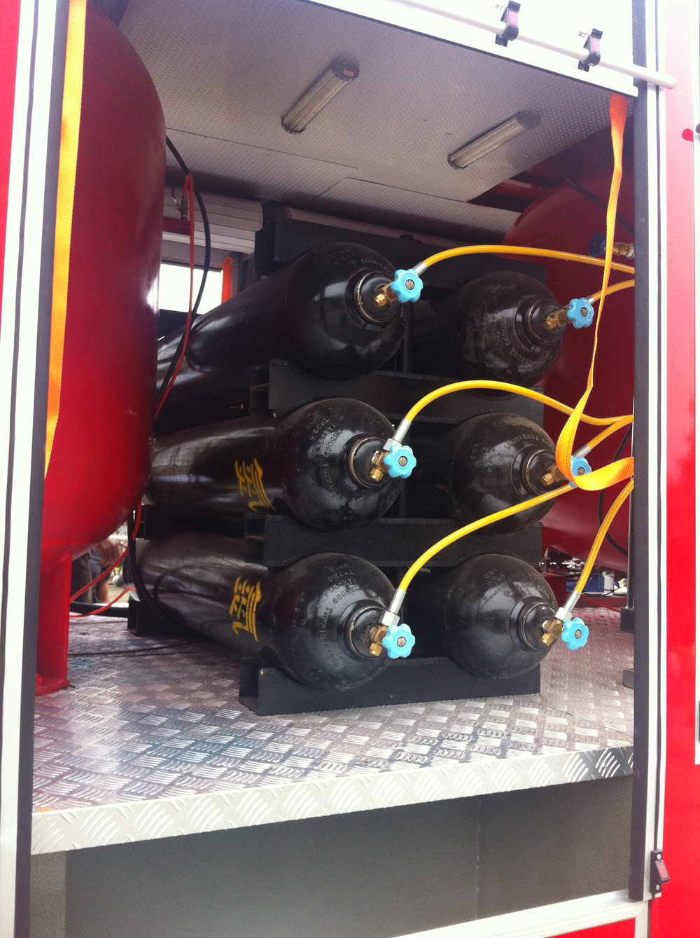 Powder fire truck details 5