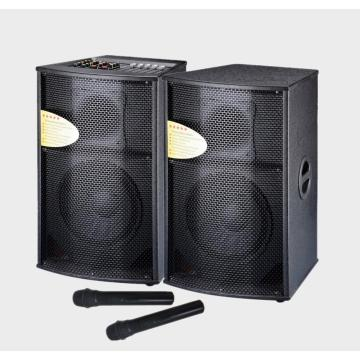12inch DJ Stage Speaker System With Wireless Mic