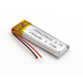 90mAh lithium ion polymer rechargeable battery (LP0X3T4)