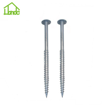 New Type of Ground Screw Pole Anchor