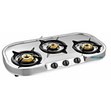 Spectra 3 Burner SS Stove Auto-Ignition