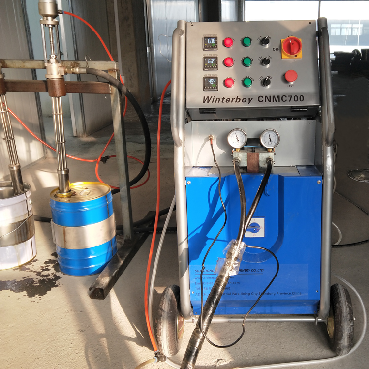 polyurea spray machine price