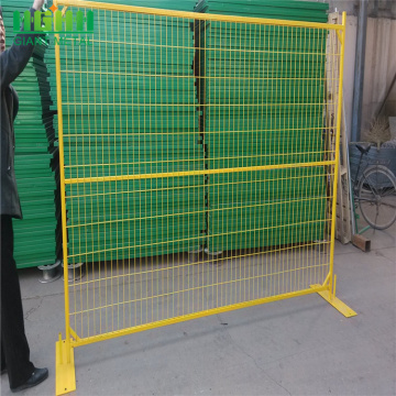 Canada portable steel swimming pool temporary fence