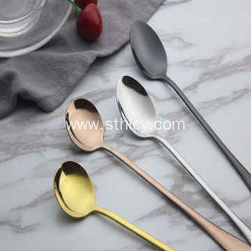 Stainless Steel Tableware Coffee Spoon