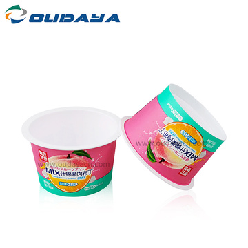 plastic pudding jelly disposable plastic sauce cup