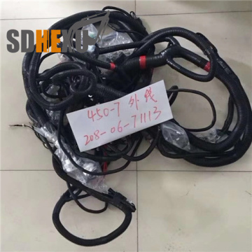 Excavator part pc400-7 outer wiring harness 208-06-71113