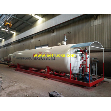 30CBM 15Ton Skid-mounted LPG Plants