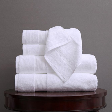 100% egyptian cotton bath towel hotel hand towel