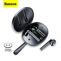 Baseus W05 TWS Wireless Earphone Bluetooth 5.0 Earphones Support Qi Wireless Charge In-ear Earbuds Touch Control Game Headphone