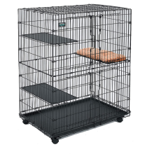 Cat Playpen WIth 3 Perching Shelves