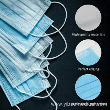 3ply Non-Woven Protective Disposable Face Mask