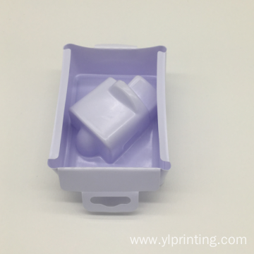 vacuum formed packaging white plastic blister tray