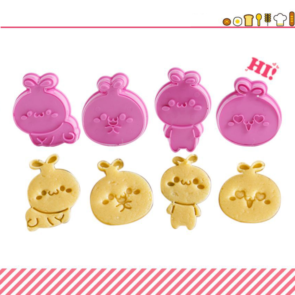 3D Cartoon Biscuit Cookie Mold (2)