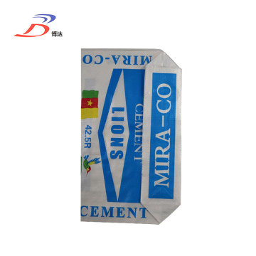 Flexo Printed PP Woven Valve Packing Cement Bags