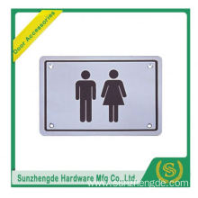 BTB SSP-013SS Iron Stainless Steel Knob Wheelchair Logo Door Sign