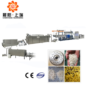 Instant rice making extruder artificial rice making machines