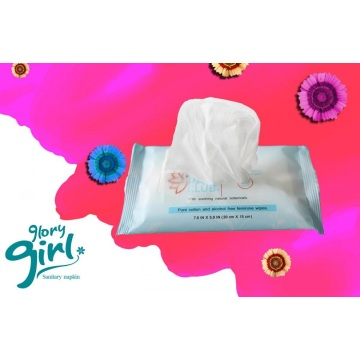 Pure cotton cleaning wet wipes wholesale