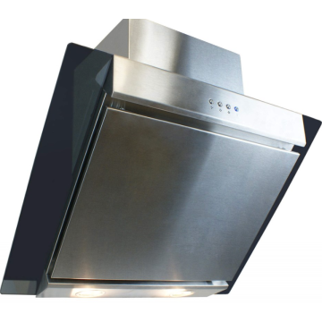 60CM Angled Glass and Steel Hoods
