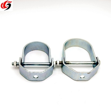 Rubber Pipe Hanger Galvanized Steel Clevis Pipe Hanger clamp