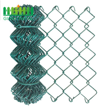 High quality PVC coating chain link diamond fence