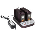 16 Units Restaurant Calling Pager Coffee Shop Church With Charging Dock Equipment Accessories Guest Waiting Buzzer Queuing