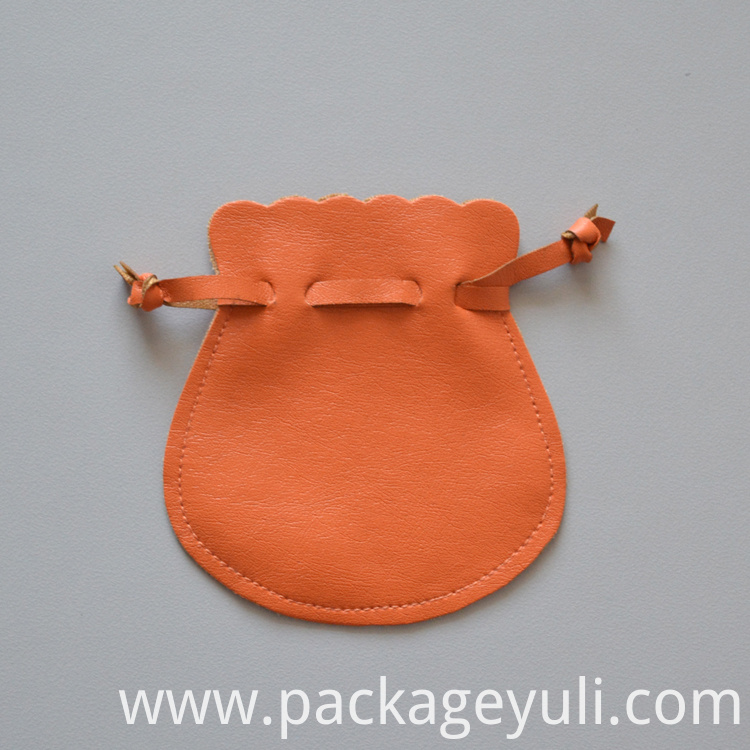 leather gift bag