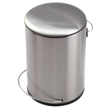 Silver Household Pedal Bin Auto-Pedal Sytem with Bucket