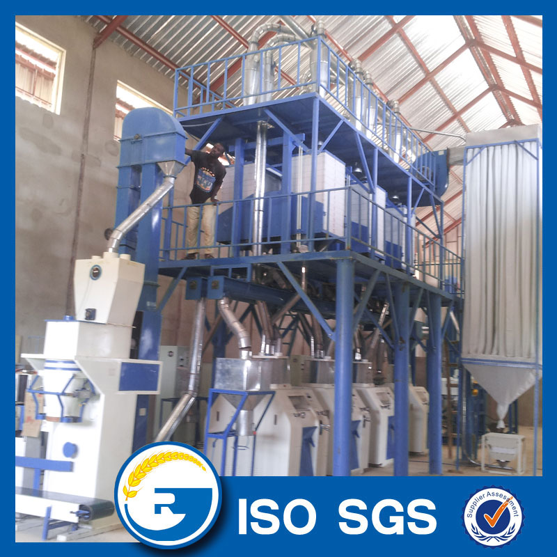 50 tpd maize milling machine