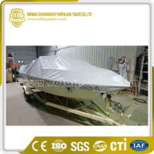 White PVC Boat Cover Heavy Duty Boat Cover