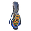 PU male embroidered golf bag