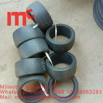 Tower crane brake pad