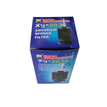 XY-2836 Bio Sponge Filter with 5.5*7.5cm Sponge for 80L Fish Tank