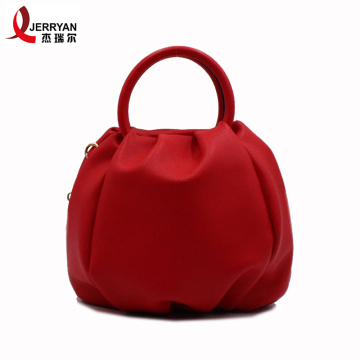 Cute Red Round Tote Crossbody Phone Bags