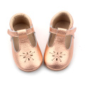 Brogue T-Bar Mary Jane Baby Dress Shoes