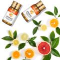 Mishiu Grapefruit Essential Oil For Aromatherapy Cedarwood Cinnamon Myrrh Patchouli Frankincense Vetiver Diffusers Oils 5ML