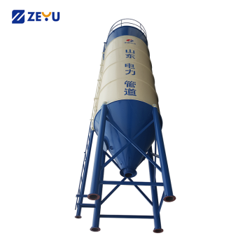 Low price concrete mixing plant 200t cement silos