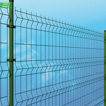 Widely Used 3D Welded Wire Mesh Fence