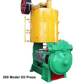 Stainless Steel Screw Oil Press Machine Type 200A