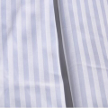 Bleached & Dyed Cotton Sateen Stripe Fabric