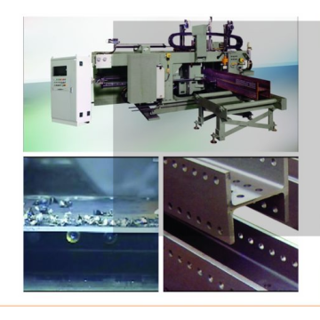 CNC Drilling machine for beam and channels