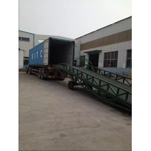 Portable Adjustable Container Loading Yard Ramp