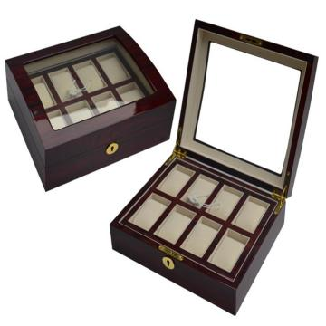 Luxury Wooden Watch Box with Window