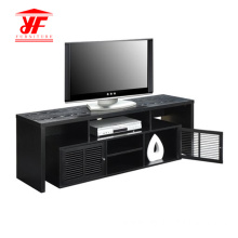 Dark Wood TV Stand Furniture With Storage